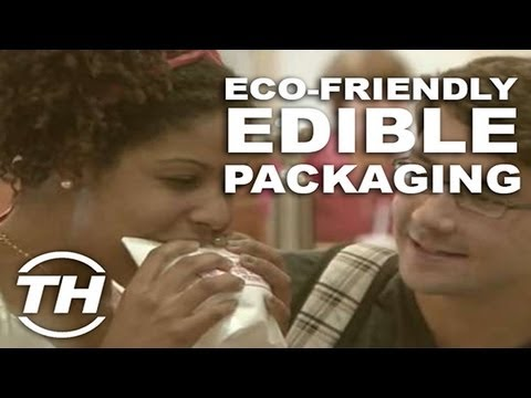 Eco-Friendly Edible Packaging - Courtney Scharf Explores Environmentally Friendly Food Carriers