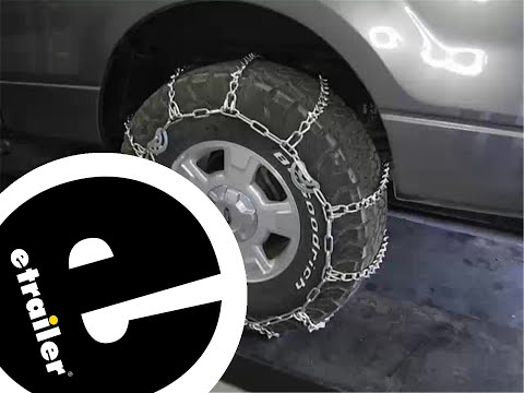 Review of the Titan Chains Tire Chains with Cams on a 2012 Ford F-150 - etrailer.com
