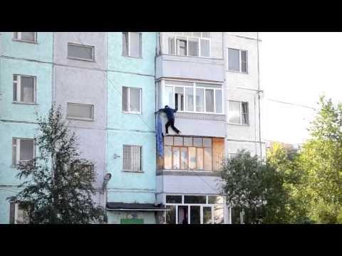 Первые попытки человека паука
