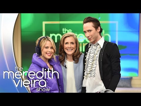 Johnny Weir and Tara Lipinski Play Frozen Frenzy | The Meredith Vieira Show
