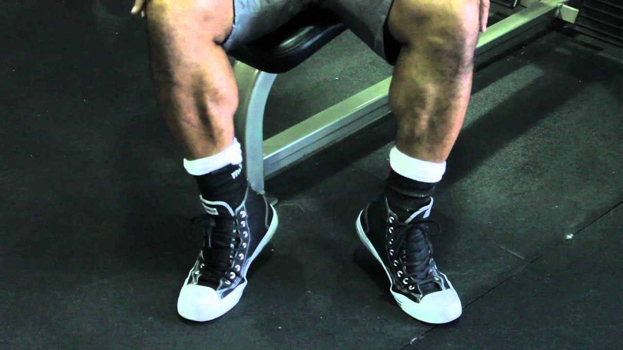 Seated Calf Raise Without Machine Seated Calf Raise Without