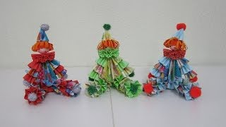 How To Make 3d Paper Doll - Sitting Clown