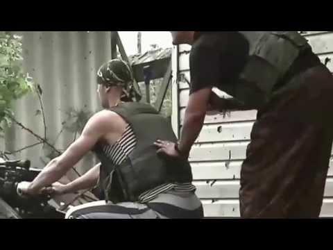 Эксклюзив - Уличные бои в Песках ДНР