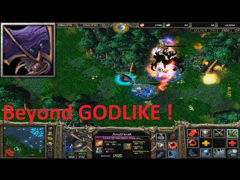 DotA 6.83d - Nerubian Assassin, Anub'arak Beyond GODLIKE !