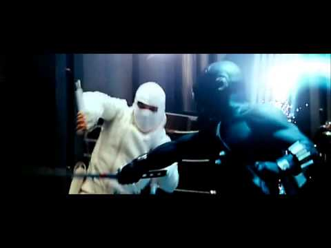 G.I. Joe Rise Of The Cobra - Snake Eyes VS Storm Shadow