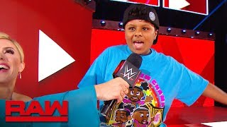 Young WWE fan does a hilarious New Day dance during Raw's break: Raw Exclusive, May 27, 2019