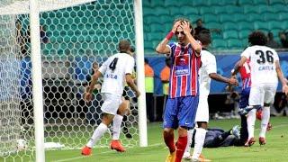 Bahia 1 X 2 Atlético (PR). Gols de Fahel (contra), Bady e Henrique (22/11/2014)