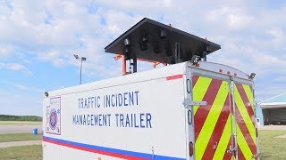 New traffic incident trailer keeps first responders safe in Otsego County