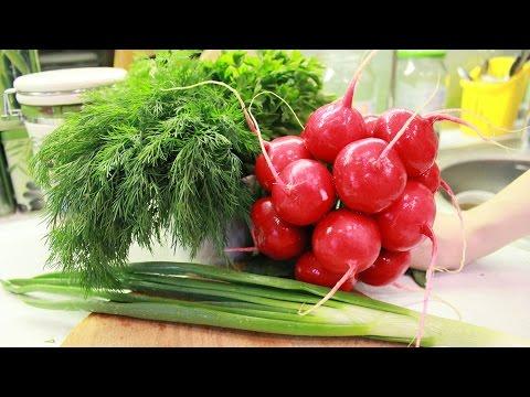 Весенний вкусный салат из редиски за 5 минут - как приготовить правильно