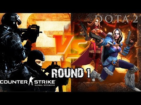 DOTA 2 vs CS:GO [SFM]