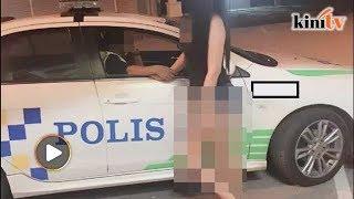 Gara-gara pegang tangan wanita seksi, anggota polis ditukar