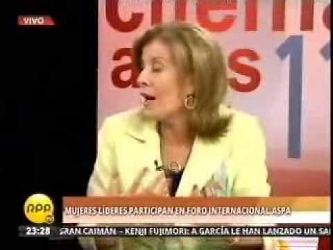 Entrevista Ministra de la Mujer y Embajadora de Marruecos sobre el Aspa (RPPTV)