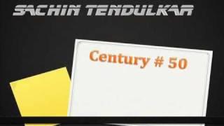 Sachin Tendulkar 50 Test Centuries