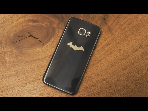 Samsung's Batman-inspired Galaxy S7 is silly and awesome