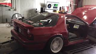 Rx7 fc drift car gets tuned on dyno and some street pulls!