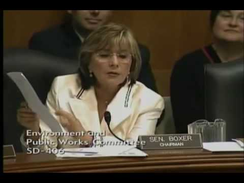 Senator Barbara Boxer shows her Progressive Racism