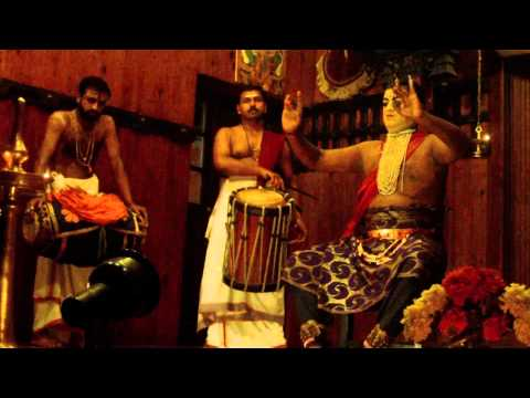 Kathakali traditional dance of Kerala, India - introduction part 1
