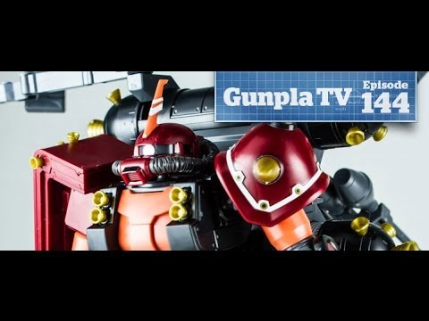 Gunpla TV - 144 - MG Build Mk II - Thunderbolt Psycho Zaku- Hlj.com