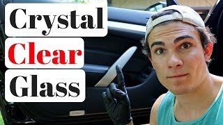 How to Clean Car Windows Streak Free: The Nature of Car Glass!