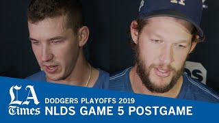Clayton Kershaw and Walker Buehler on the Dodgers losing NLDS Game 5