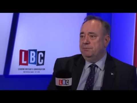 Alex Salmond: Live on LBC