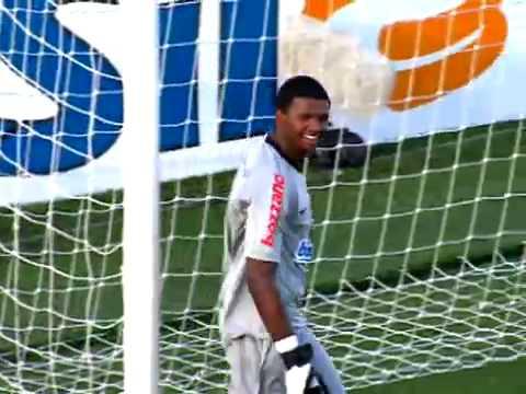 Gols Corinthians 3x1 Santos - 1º Jogo Final Paulistão 24 06 2009 - Melhores Momentos video
