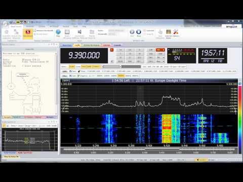 Radio Thailand 9390 KHz SDR SWL 2013-04-12