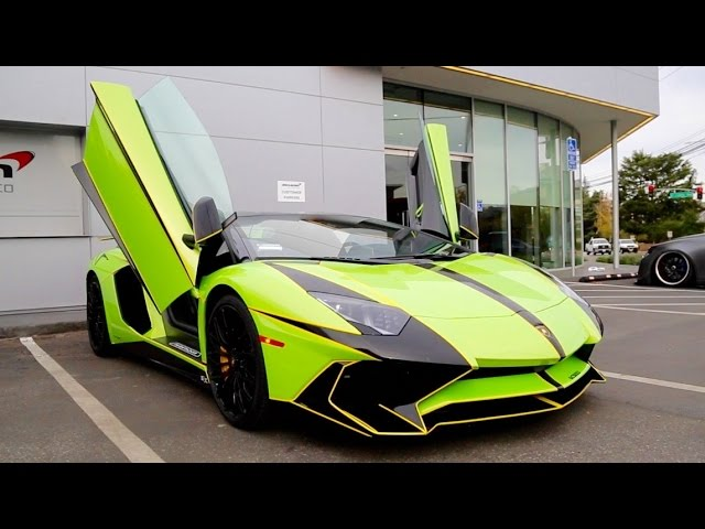I DRIVE A $720k LAMBORGHINI AVENTADOR SV ROADSTER!!!