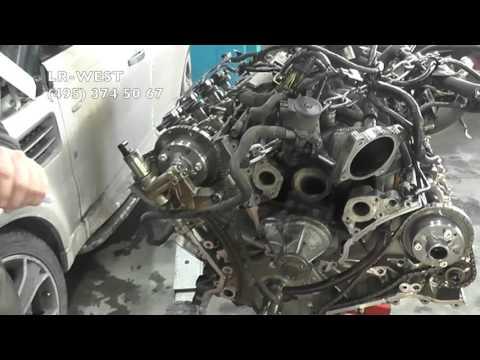 снятие двигателя ленд ровер дискавери 3 дизель продаже