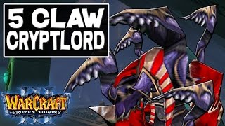 Warcraft 3 - WTii & Sexytime 2v2: 5 Claw Crypt Lord