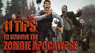 11 TIPS for Surviving the Zombie Apocalypse - Zombie Survival Guide