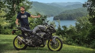 2017 Yamaha FZ-10 on The Dragon! First Ride Review | On Two Wheels