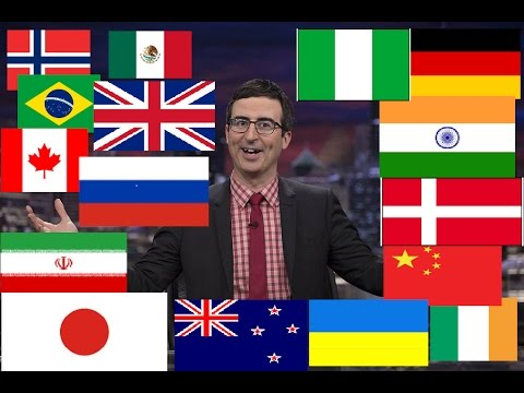 Watch How John Oliver Describes Most Countries (Compilation)