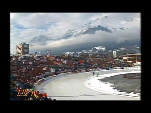 World Championships Allround Innsbruck 1990 - protest weather / ice  condition (5 km)