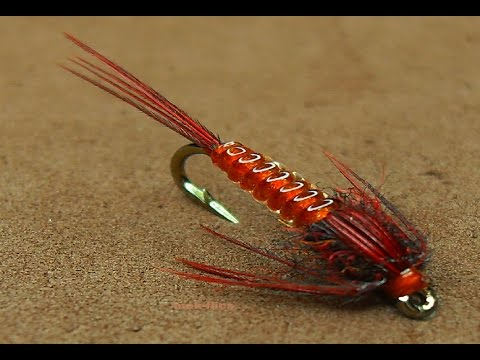 Tying a Clear Stretch Pheasant Tail Nymph by mak
