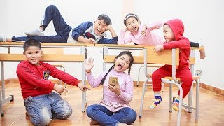 Kids Go To School | Chuns Study Group With Friends The Creativity Of Children