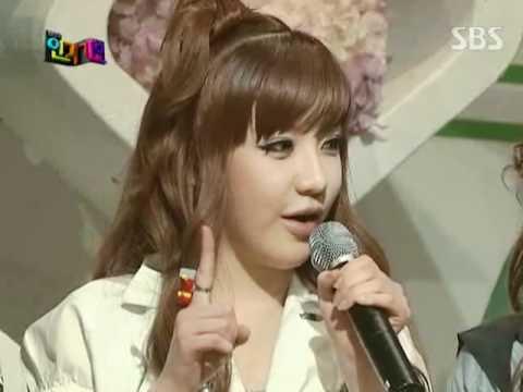 2NE1 - Interview @ SBS Inkigayo 인기가요 090712