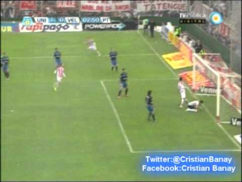Union 1 Velez 1 (Audio Ecos Velezanos)  Torneo Final 2013 Los goles (16/6/2013)