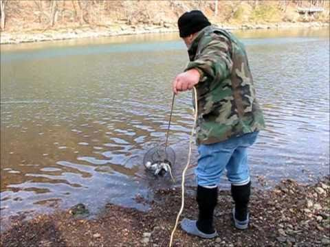 Rainbow Trout Fishing At Gore Oklahoma Youtube