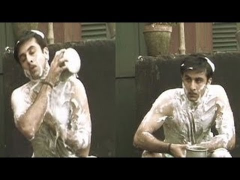 Barfi ! - Ranbir Kapoor Bathing In Public ? video