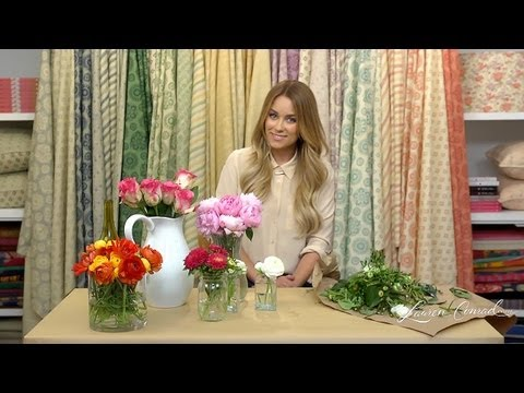 Crafty Creations: Floral Arrangements [LaurenConrad.com]