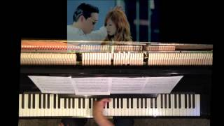 PSY - Gangnam Style (강남스타일) Piano Cover (piano track only)