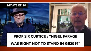 Sir John Curtice discusses Farage's future with Galloway on MOATS