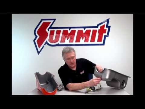 Oil Pan and Gasket - Summit Racing Quick Flicks