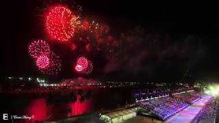 Chingay 2019 Fireworks (Featuring JJ Lin singing Future Dreams)