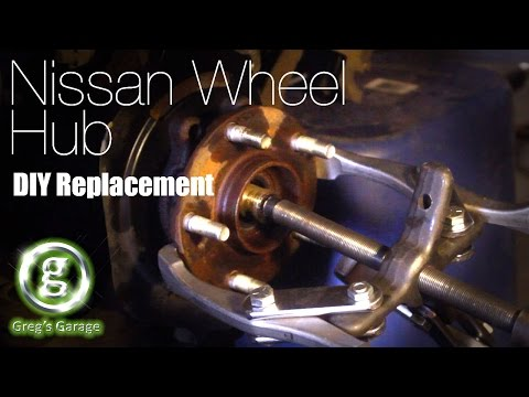 Nissan Wheel Bearing Hub Replacement - Murano