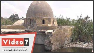 """بالفيديو .. مشهد""""طباطبا"""" أقدم مستشفى أثرى فى مصر يغرق فى مياه الصرف الصحى"""