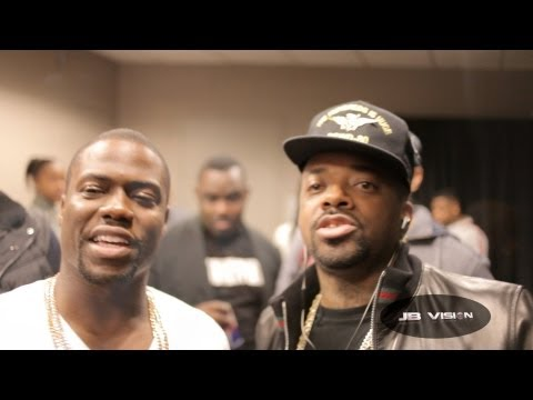 Backstage At Kevin Hart's Atlanta Show & After Party With Jermaine Dupri (Clowns Shawty Shawty's Adidas Suit)