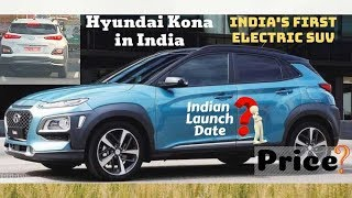 Hyundai Kona India Roads par - Price, launch date, features, Hindi Video.