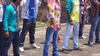 telugu movie song shooting in golkonda